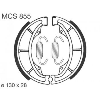 Тормозные колодки барабанные Lucas MCS855