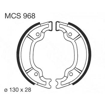 Тормозные колодки барабанные Lucas MCS968