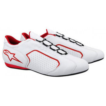 Мотокроссовки Alpinestars Montreal White-Red 44