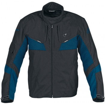 Мотокуртка Alpinestars T-Omega Air-Flow Black-Blue 3XL