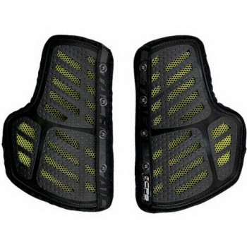 Защита груди RS-Taichi Separate Honeycomb Chest Protector Black-Yellow