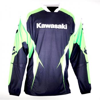 Мотоджерси Kawasaki MX Pro 10 Black-Green L