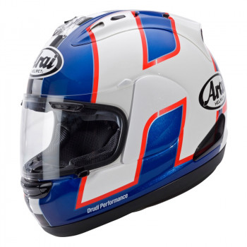 Мотошлем Arai RX-7 GP Haslam WSBK Blue-Red-White M (2012)