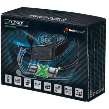Переговорное устройство Nolan BX4 Plus для шлемов X1003/702/603/551 N-Com Black