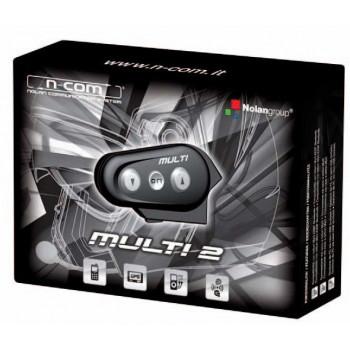 Переговорное устройство Nolan Multi 2 для шлемов N101/100/6 N-Com Black