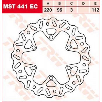 Тормозной диск Lucas MST441EC