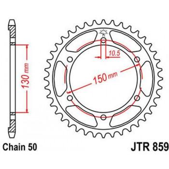 Звезда задняя JT Sprockets JTR859.47