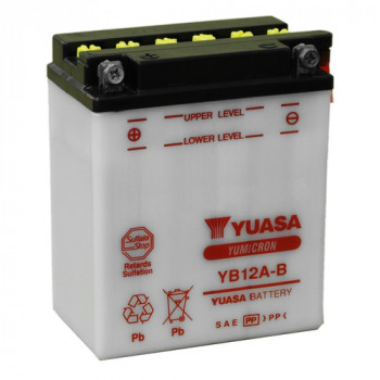 Аккумулятор Yuasa YB12A-B