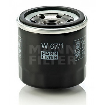 Фильтр масляный Mann W 67/1 = W 67/80