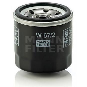 Фильтр масляный Mann W 67/2 = W 67/81