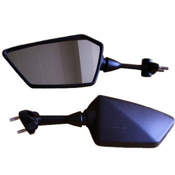 Зеркало Kawasaki EX250 Ninja 08-12 левое Black