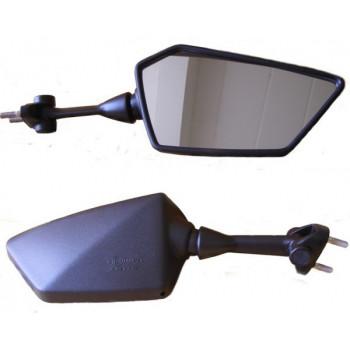 Зеркало Kawasaki EX250 Ninja 08-12 правое Black