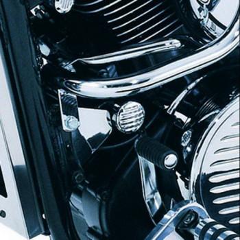 Накладки на двигатель Kawasaki K53020279 Silver