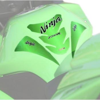 Наклейка на бак Kawasaki Ninja Z250R Green