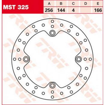 Тормозной диск Lucas MST325