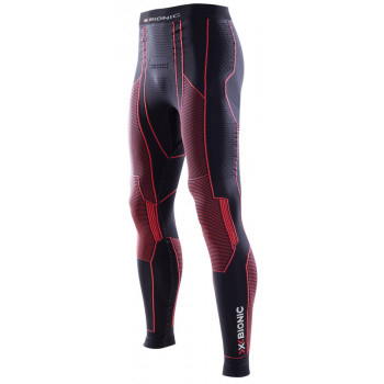 Термоштаны X-Bionic Motorcycling Man Pants Long Black-Red 2XL