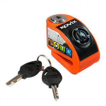 Мотозамок Kovix KD6-FO Orange