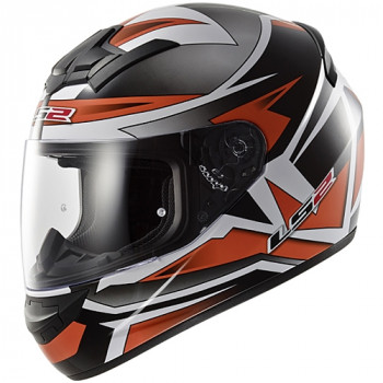Мотошлем LS2 FF352 Rookie Gamma Black-Orange XL