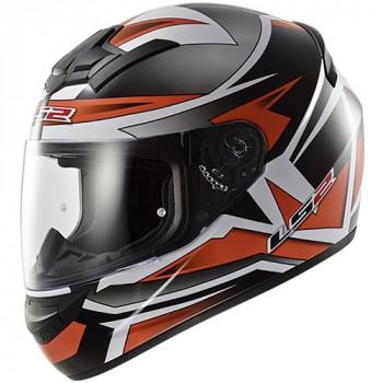 Мотошлем LS2 FF352 Rookie Gamma Black-Orange 2XL