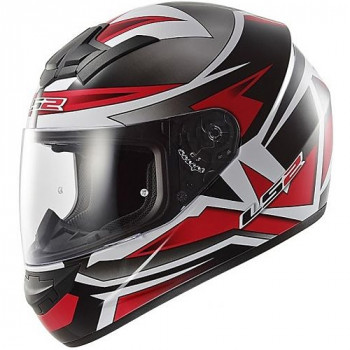 Мотошлем LS2 FF352 Rookie Gamma Black-Red 2XL