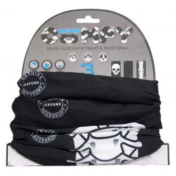 Бафф Oxford Comfy Skeleton Black-White