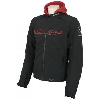 Мотокуртка Bering Jaap Black-Red 2XL