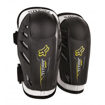 Налокотники детские Fox YTH Titan Sport Black