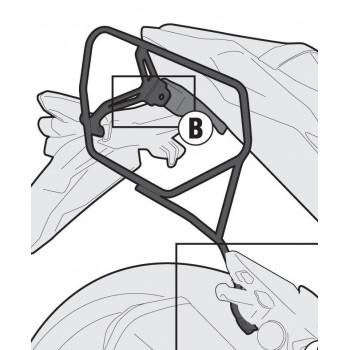 Крепление сумок боковых GIVI Easylock Z800 13-15
