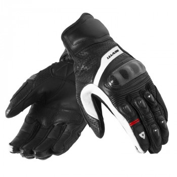 Мотоперчатки REVIT Chevron Black-White L