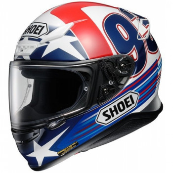 Мотошлем Shoei NXR Indy Marquez TC-2 Blue-Red-White M