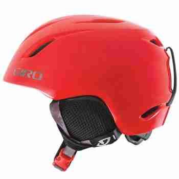 фото 1 Горнолыжные и сноубордические шлемы Горнолыжный шлем детский Giro Launch Red Gloving Camо M/L 52-55.5 (2012)