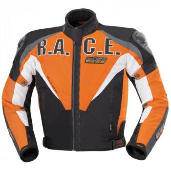 Мотокуртка Buse Textiljacke Black-Orange M