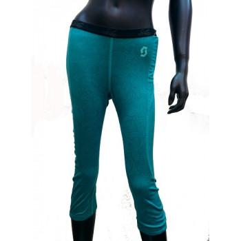 Термоштаны женские Scott W's 8zr0 3/4 Turquoise S