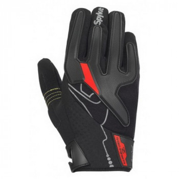 Мотоперчатки Spyke Tech Sport Black-Grey-Red L