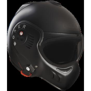 Мотошлем ROOF Boxer V8 FullBlack Black Matt S-M