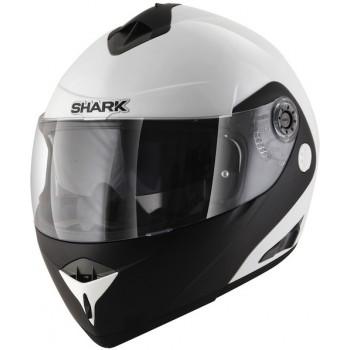 Мотошлем SHARK Openline Pinlock D-Tone White-Black XS