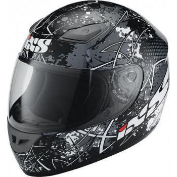 Мотошлем IXS HX 2410 MotoHead Black-Grey L