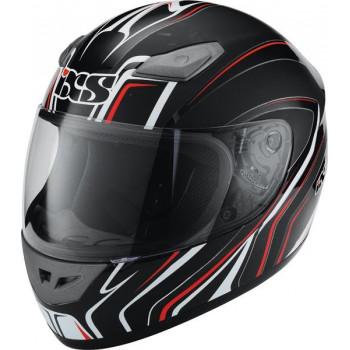 Мотошлем IXS HX 2410 Tourace Black-White-Red XL