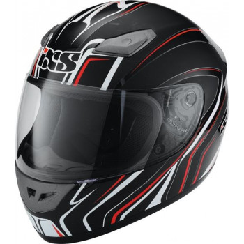 Мотошлем IXS HX 2410 Tourace Black-White-Red XS