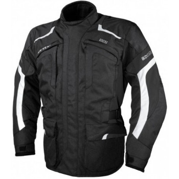 Мотокуртка IXS Nerva Black-Grey-White S
