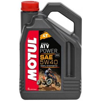 Моторное масло Motul ATV Power 4T 5W-40 (4L)