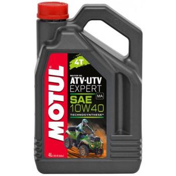 Моторное масло Motul ATV-UTV Expert 4T 10W-40 (4L)