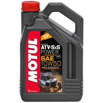 Моторное масло Motul ATV SXS Power 4T 10W-50 (4L)