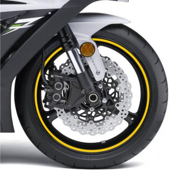 Наклейка на обод колеса Print Riflettent Yellow