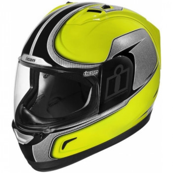 Мотошлем Icon Alliance Hi-Viz Yellow L