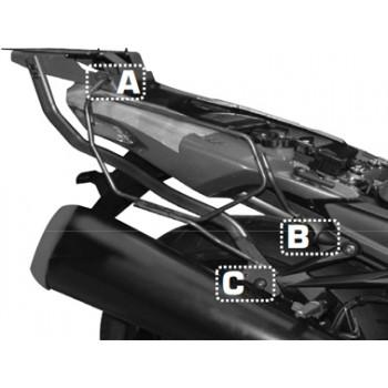 Крепление сумок боковых GIVI Easylock ZX14 12