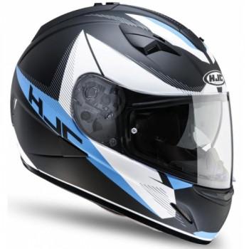 Мотошлем HJC TR1 REVOLT MC2F Black-Blue-White XL