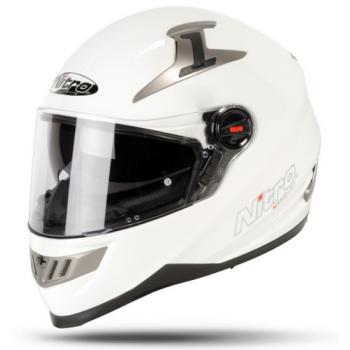 Мотошлем Nitro N2200 Uno White L