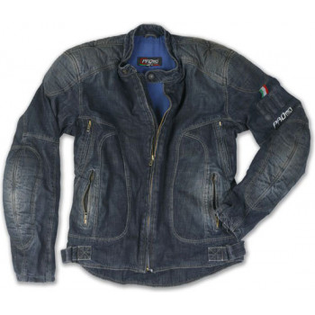 фото 1 Мотокуртки Куртка джинсовая c арамидным волокном и защитой Promo Miami Blue M