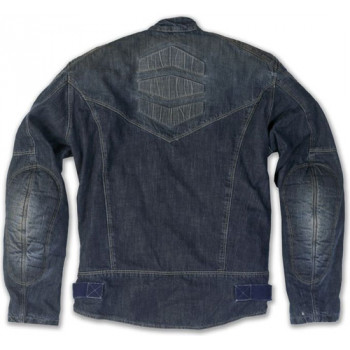 фото 2 Мотокуртки Куртка джинсовая c арамидным волокном и защитой Promo Miami Blue S
